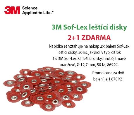3M - Sof-Lex - nabídka kongres Al Dente Prague
